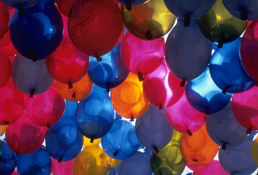 Bunch of Colorful Baloons